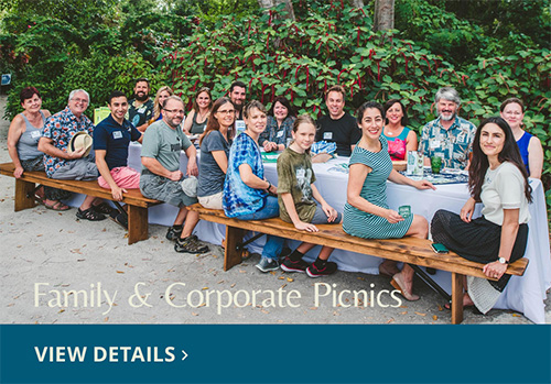 Group attending National Parks Conservation Conference picnic. View Details
