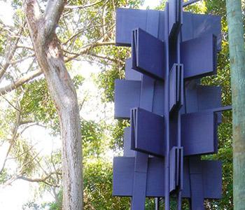 Deering Estate Art Blue