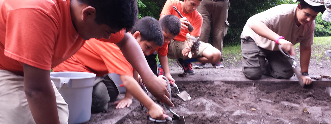 Deering Estate Mock Archaeology Learning
