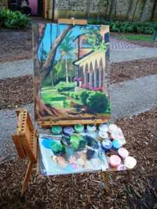 deering estate affair en plein air
