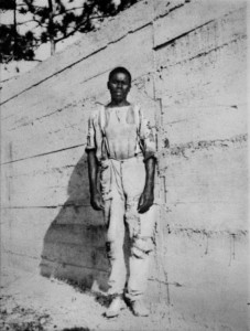 An Afro-Bahamian worker that helped construct the People's Dock just south of the Estate
