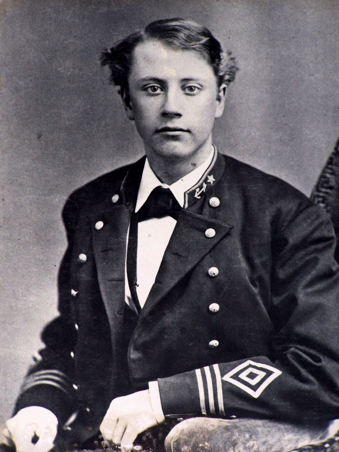 Charles William Deering, Cadet at the US Naval Academy 1873