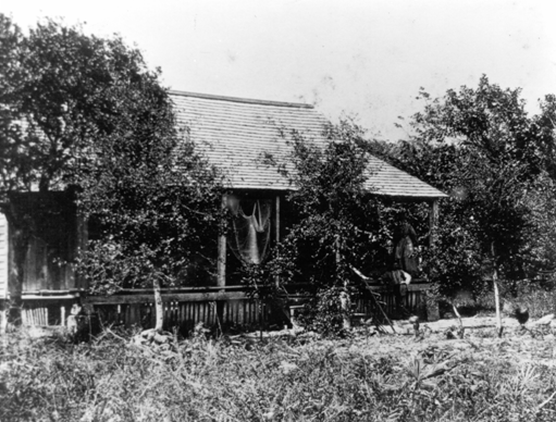 John and Mary Addison built the first permanent homestead of the town of Cutler in April 1864