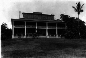 The Richmond Cottage, purchased in 1916, was renovated and redesigned to include fireplaces, gas hook-ups, electricity, and plumbing