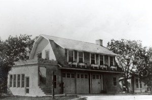 View of the Carriage House, built in 1916 as a garage for Deering's cars, a laundry-room, and mechanic's living quarters
