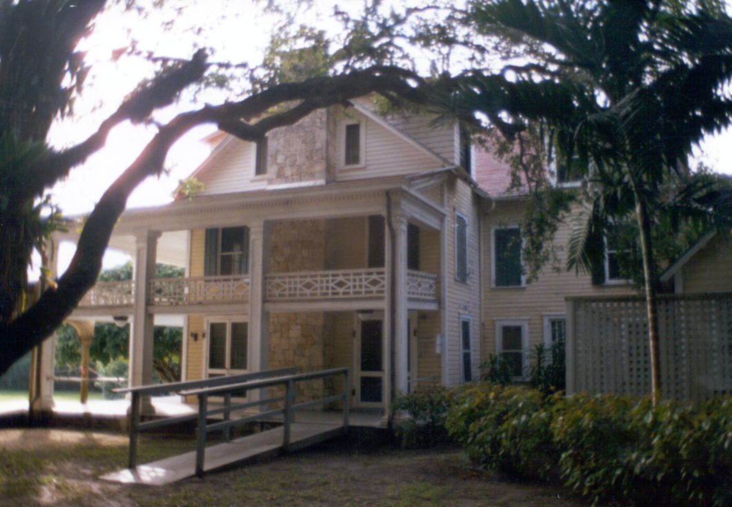 View of the Richmond Cottage in the 1980s
