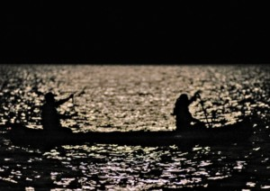 Moonlight Canoe Deering Estate