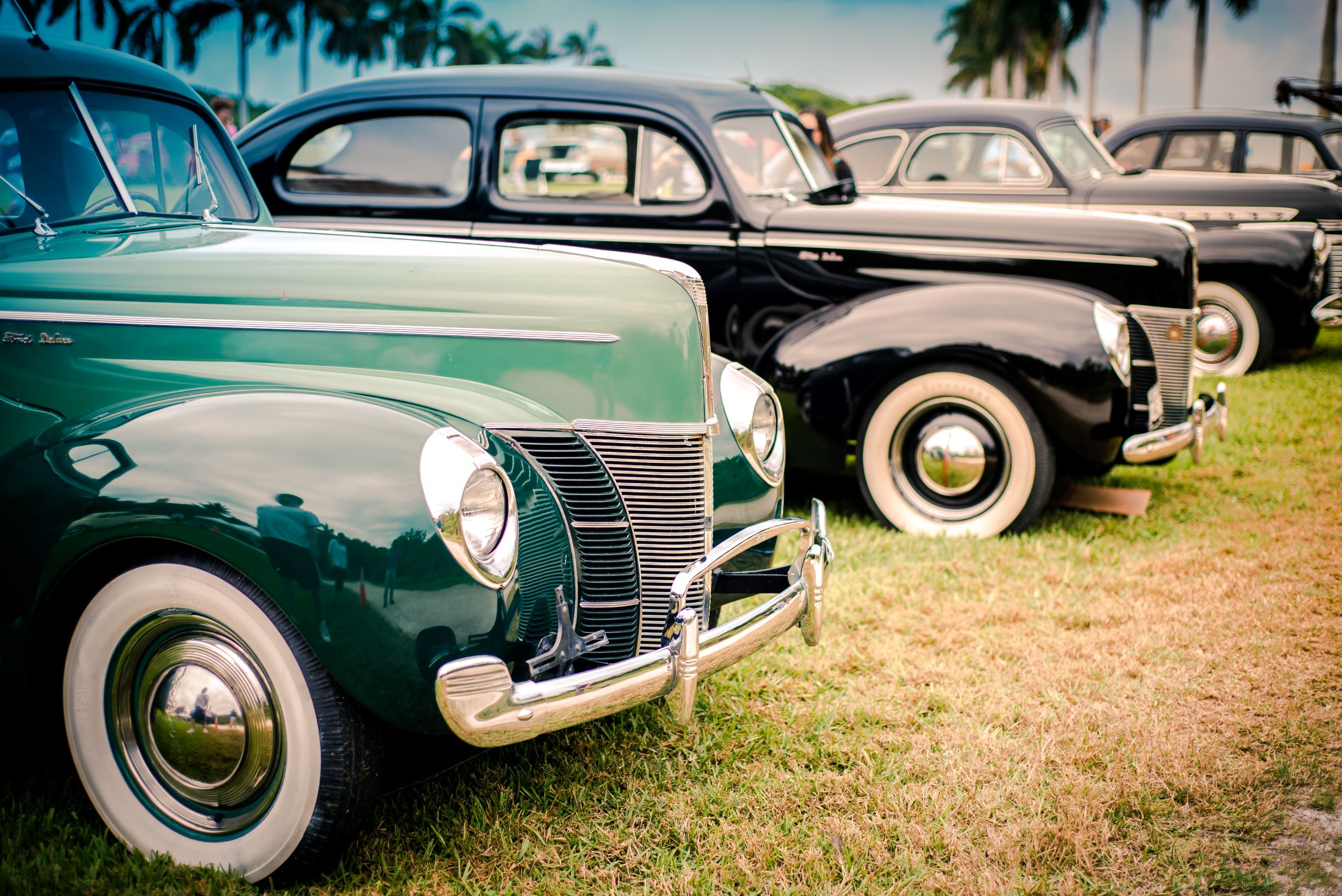 vintage auto show deering estate photo by Elias Horna