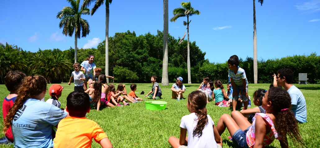 deering estate camp kids activities front lawn