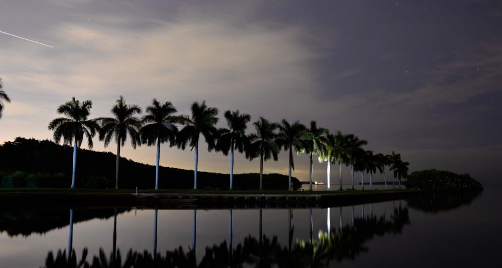 deering estate biscayne bay boat basin star astronomy evening by the bay