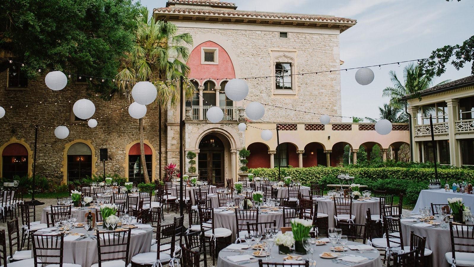 Deering Estate Wedding Venue