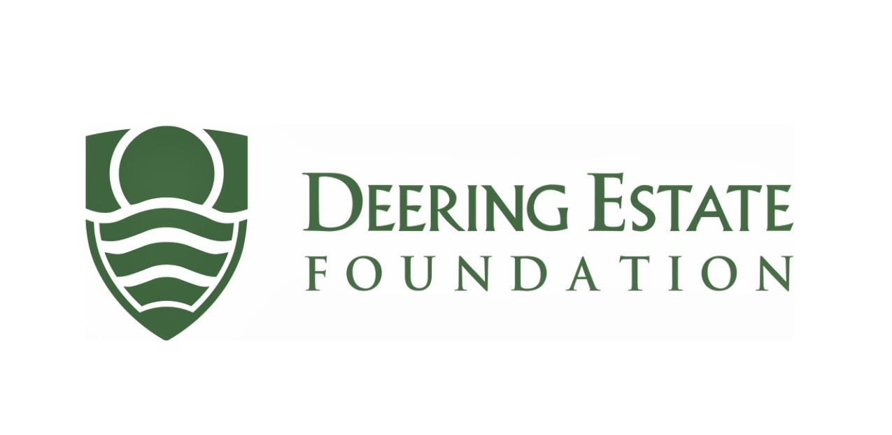 deering estate foundation icon logo green