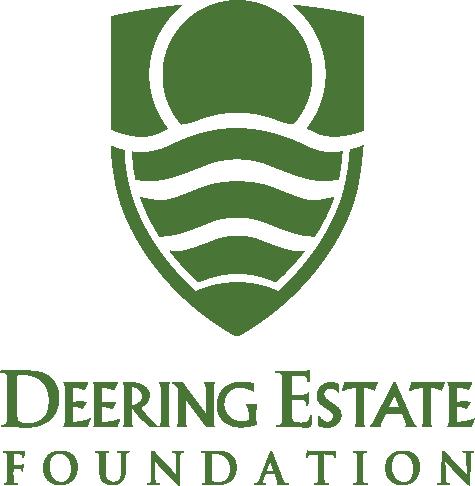 deering estate foundation logo green